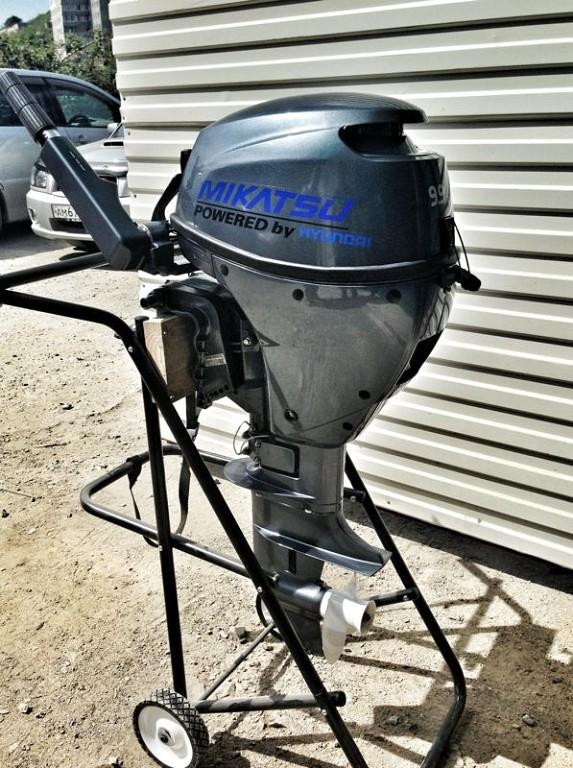 купить лодочный мотор микатсу 9.9 4такта